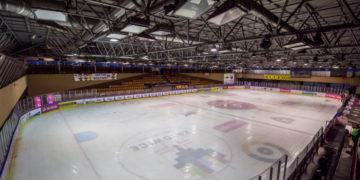 d&b audiotechnik na lodowisku