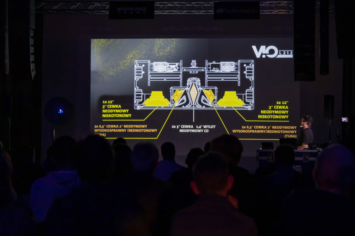 Wpierwszej części spotkania Andrea skupił się na nowych produktach wchodzących wskład serii ViO, szczegółowo opisując zastosowanie iużyte wnich rozwiązania technologiczne.
