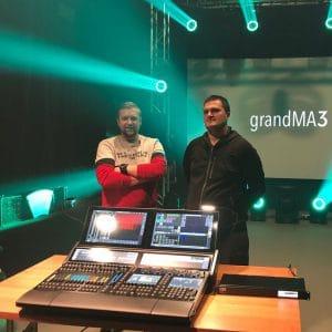 grandMA3 w LEVEL Technika Estradowa