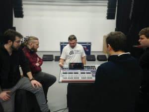 Behringer WING – Maciej Szewczyk (SoundTrade) i Karol Dzienisiuk (KMD Studio)