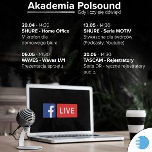 Akademia Polsound – transmisje na żywo