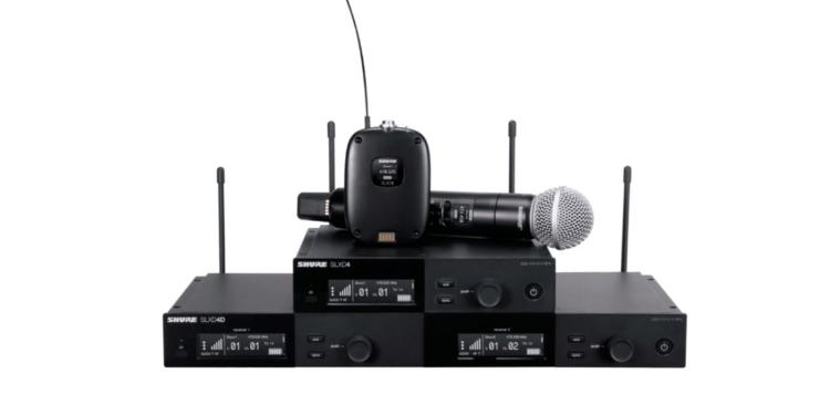 Cyfrowy system bezprzewodowy Shure SLX-D www.muzykaitechnologia.pl