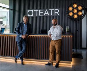 Nowa siedziba PS TEATR – rozmowa z właścicielem firmy Markiem Gumińskim oraz dyrektorem zarządzającym Michałem Frąckowiakiem