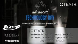 Advanced Technology Day w PS Teatr