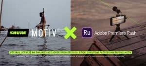 Współpraca Shure i Adobe