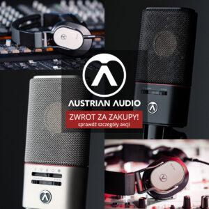 Austrian Audio oddaje pieniądze za zakupy!