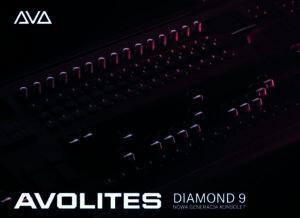 Premiera nowej konsolety Avolites Diamond 9